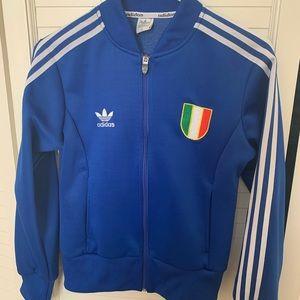 Adidas Italia blue jacket